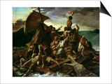 The Raft of the Medusa by Gericault