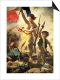 Liberty Leading People by Delacroix