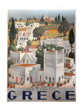 Greek Travel Ads (Vintage Art)