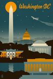 Washington Travel Ads (Decorative Art)