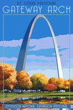 Missouri Travel Ads (Decorative Art)