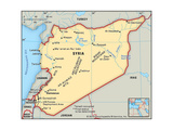 Maps of Syria