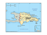 Maps of Dominican Republic