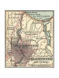 Maps of Rochester, NY