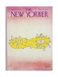Office Life New Yorker Covers
