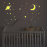 Space Exploration Wall Stickers