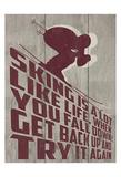 Skiing Motivational
