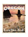 Oregon Travel Ads (Vintage Art)