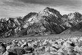 Rocky Mountains (B&W Photography)