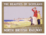 North British Railway  Golf in Scotland