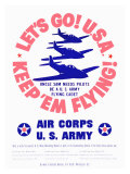 WWII  US Army Air Corps  Let's Go