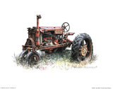 Early Model Farmall Tractor