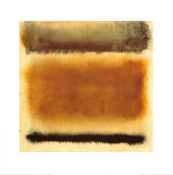 Untitled, c.1958 Reproduction d'art par Mark Rothko