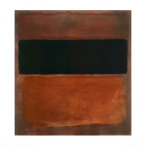 No 10  Brown  Black  Sienna on Dark Wine  c1963