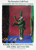 Pulcinella With Applause, 1980-107 Reproduction d'art par David Hockney