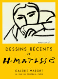 Dessins récents, 1952 Reproduction d'art par Henri Matisse