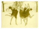 Snow Women Modern Dance
