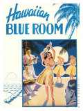 Hawaiian Blue Room  Hula Dance