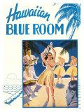 Hawaiian Blue Room  Hula Dance