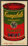 Campbell's Soup Can  1965 (green & red)