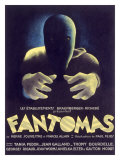 Fantomas  Sci-Fi Movie Poseter