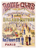 Royal Club Billard Matches  Paris