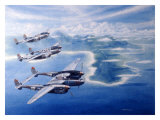 WWII  P38 Lightnings in the Pacific