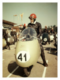 GP Moto Guzzi Motorcycle Race