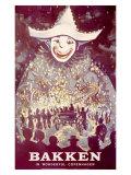 Bakken Parade of Lights Clownposter