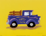 Happy Hauling Reproduction d'art par Anthony Morrow