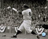 Yogi Berra - batting action/sepia ©Photofile