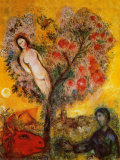 La Branche Reproduction d'art par Marc Chagall