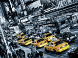 New York City Cabs Queue