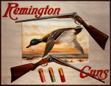 Remington Arms 2 Shotguns &amp; Ducks