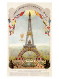 Universal Exposition Fair  Paris  c1889
