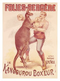 Folies Bergere  Boxing Kangaroo