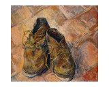 Paire de chaussures Giclée par Vincent Van Gogh