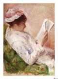 La Liseuse Giclée par Mary Cassatt