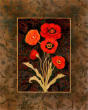 Damask Poppies