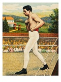 Cigarette Card Depicting Charles &quot;Kid&quot; McCoy