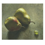 Two Pears and a Grape