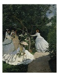 Women in a Garden