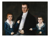Portrait of John Jacob Anderson and His Sons  Edward and William