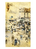 European Street Scene by Maurice Prendergast
