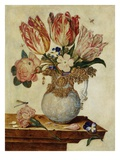 Floral Still Life by Jan Baptist van Fornenburgh