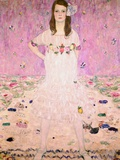 Fille en blanc Giclée par Gustav Klimt