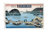 Twilight  Atami from the Series Eight Views of Famous Places