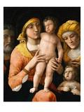 The Holy Family with Saint Elizabeth and the Infant Saint John the Baptist