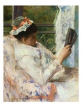 The Reader (Lydia Cassatt)
