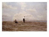Tending the Fishing Nets by Thomas Eakins